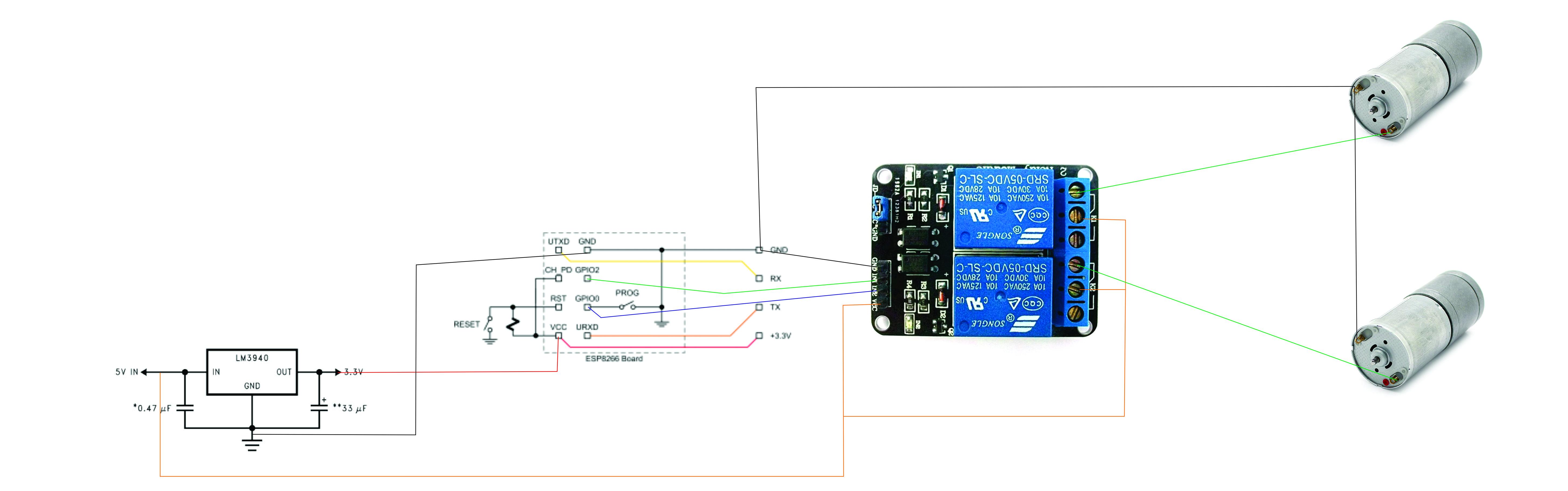 Circuito Wifi : Iot robot básico controlado por wifi iot basic robot
