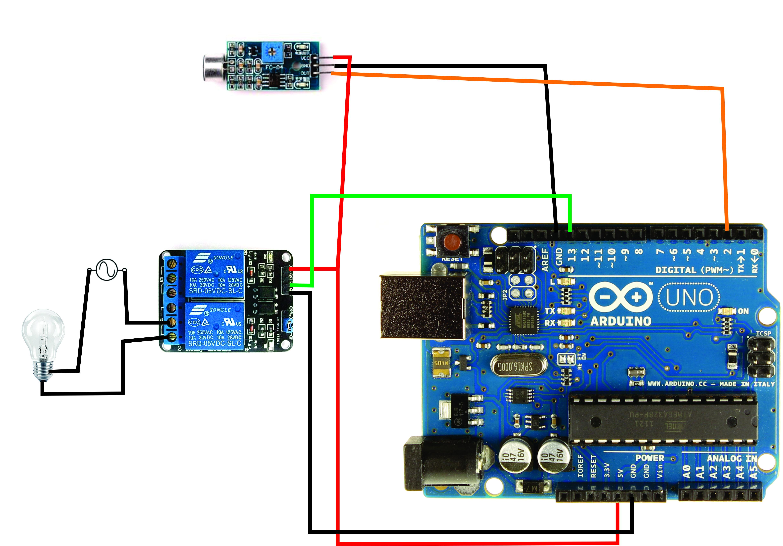 Circuito Bluetooth Casero : Interruptor por sonido aplauso u2013 rogerbit