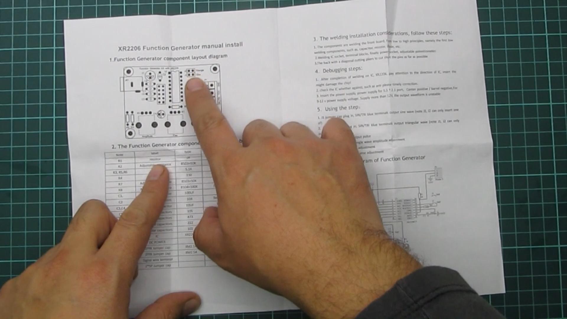 Circuito Xr2206 : Como armar kit generador de funciones con xr u rogerbit