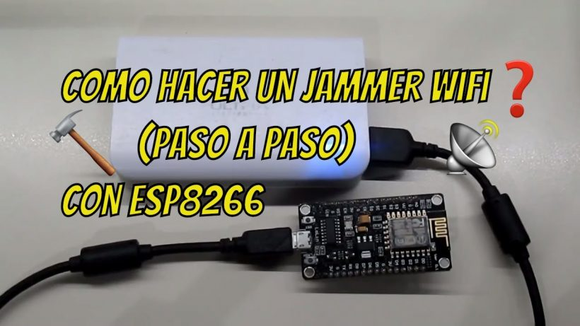 Wifi Jammer NodeMCU Hacker Deauther Latest V2.0 with case and Adapters