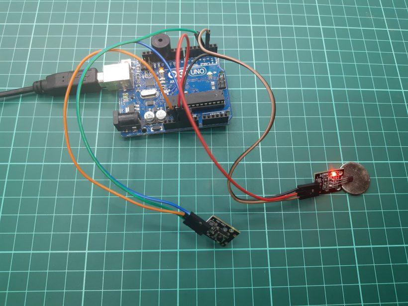 Alarma Básica Magnética Con Módulo Ky 003 Sensor Efecto Hall